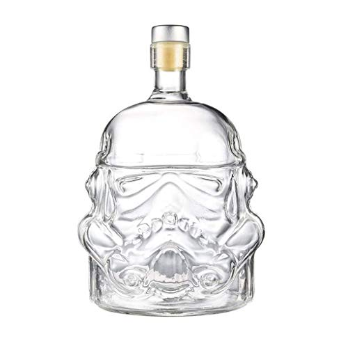 WANGIRL Sweet Stormtrooper Carafes Stormtrooper Decanter Stormtrooper Flasche, Star Wars Flasche, Whisky Carafe, transparente kreative 750ml Whisky Carafe Dekanter LOLDF1