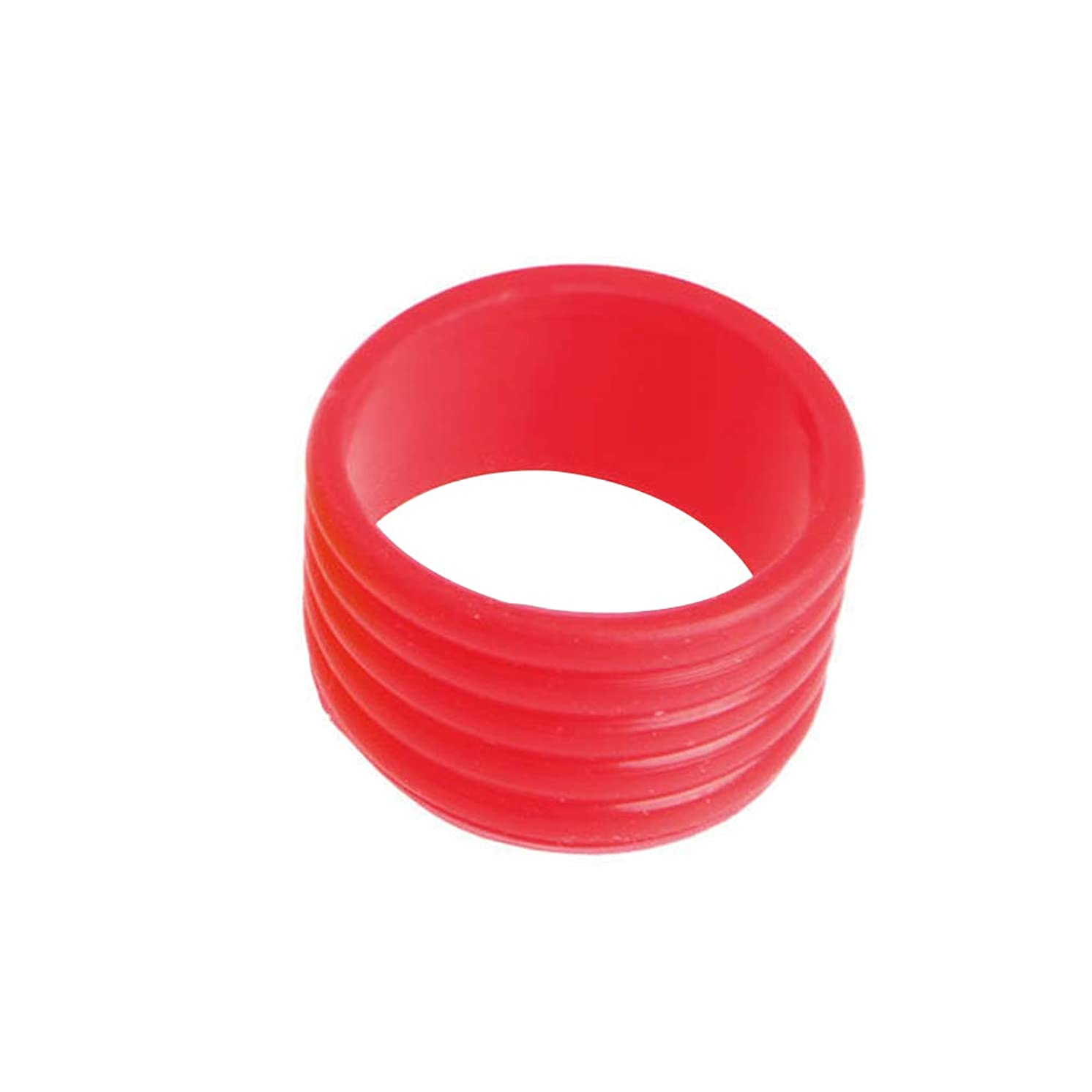 ruiycltd 5Pcs Sport Racket Handle Rubber Ring Stretchy Tennis Racquet Band Overgrips New Year's Gift