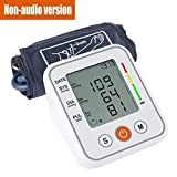 straw Digital Blood Pressure Monitor Clinically Accurate Fast Reading Automatic Upper Arm Digital BP Monitor with Large Display One Touch Operation for Hom