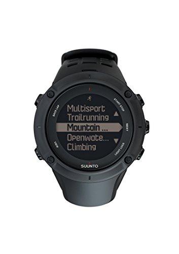Suunto – Ambit3 Peak Black – Reloj con GPS Integrado, Unisex,