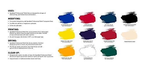 Speedball 3940 Professional Relief Ink, Supergraphic Black 8 Fl Oz