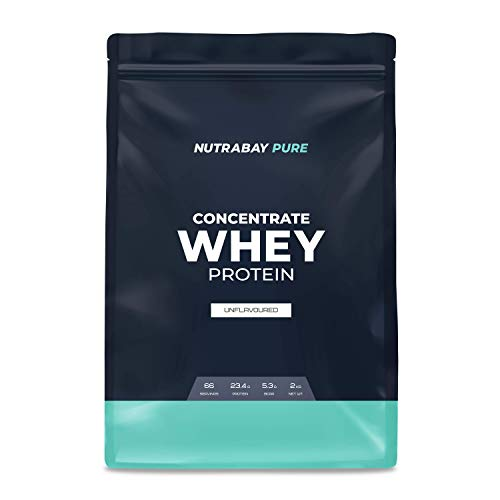 Nutrabay Pure 100% Whey Protein Concentrate - Unflavoured, 2kg