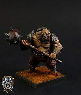 Shieldwolf Miniatures: Talliareum Ogre Bodyguard (1x Multi-Part Resin 28mm Scale Figure) Warhammer 40k, Age of Sigmar, The 9th Age, Kings of War