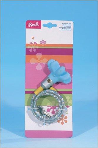 Barbie 085-30558 - Cierre de cable para bicicleta ( llave )