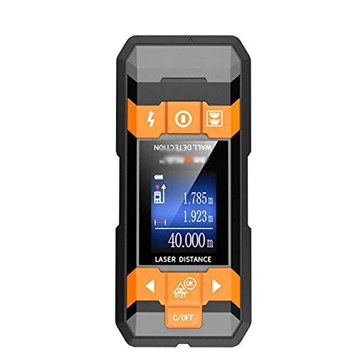 Adesign Stud Finder, Stud Detector 4 en 1 Escáner de pared de la mutifuncción con sensor inteligente actualizado, pantalla LCD HD y alarma de audio para el centro y borde del metal, los pernos, el cab