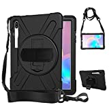 Rantice Samsung Galaxy Tab S6 10.5 Case, Heavy Duty Rugged...