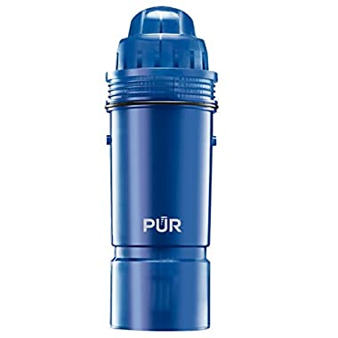 PUR Basic Water Pitcher Replacement Filter, 2-Stage, 2-Pack, Filter Replacements for PUR Water Filter Pitchers, Reduced Chlorine Taste and Odor, Filters Provide 40 Gallons/2 Months of Filtered Water