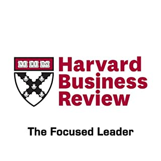The Focused Leader (Harvard Business Review) cover art