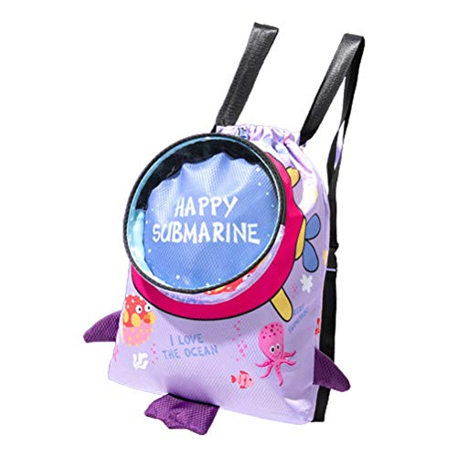 Nuryme Bolsa de viaje impermeable, cordón duradero, bolsa de deporte, bolsa de separación para niños