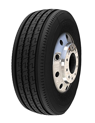 Double Coin RT606 Ultra Premium 5-Rib Regional Steer/All-Position Commercial Radial Truck Tire - 11R22.5 14 ply