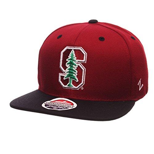 NCAA Zephyr Stanford Cardinal Mens Z11 Snapback Hat, Adjustable Size, Team Color