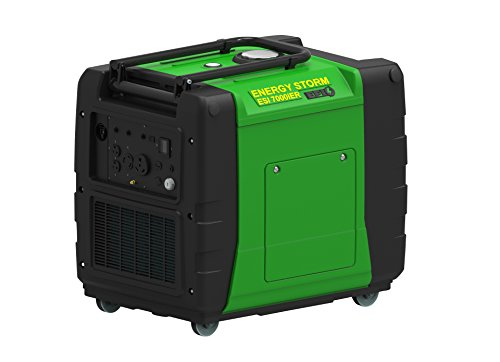 Energy Storm Digital Inverter Generator, Green - LIFAN ESI 7000iER-Efi-CA