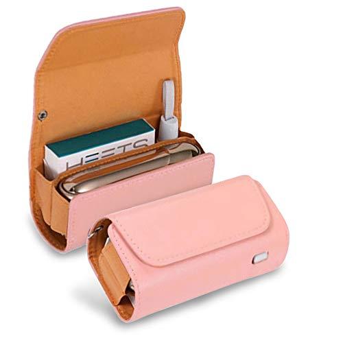 アイコス3ケース iqos3 ケース IQOS3 DUO 専用ケース IQOS3.0 電子たばこ IQOS3 キット 保護ケース 革 カバー レザーケース おしゃれ (ピンク)
