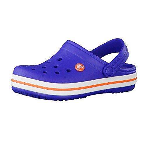 Crocs Crocband Clog Kids, Zoccoli Unisex-Bambini, Blu (Cerulean Blue), 24/25 EU