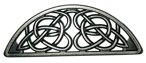 Timeless Celtic Knot Bin Pulls in Old Silver