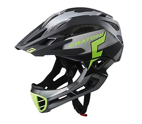 Cratoni C-Maniac Pro MTB Helm Black/Lime Matte Kopfumfang S/M | 52-56cm 2020 Fahrradhelm
