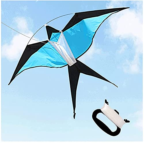 LIOYUHGTFY Flugdrachen Drachen Für Kinder Schwalbendrachen mit 100M Kiteleine,Einfach zu montieren,Einfach zu fliegen Anfängerdrachen für Erwachsene und Kinder für Strandausflug-7 Farben 714(Color
