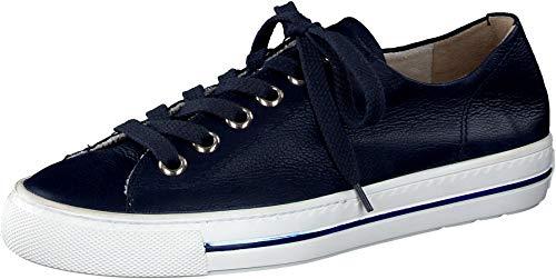 Paul Green Damen SUPER Soft Halbschuhe, Damen Low-Top Sneaker,schnürschuhe,schnürer,straßenschuhe,Freizeitschuhe,Dunkelblau (088),37 EU / 4 UK