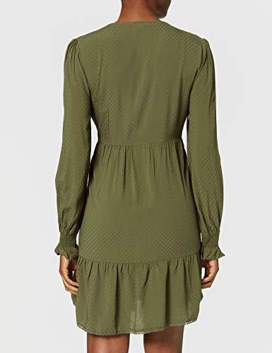 Springfield Vestido Túnica, Verde, 40 para Mujer