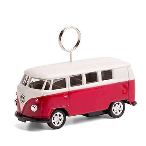 corpus delicti :: VW Bus - Foto- und Kartenhalter auf Rädern (rot) (20.2r)