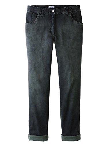 KjBrand Hose Jeans Jeans schwarzgrün Größe 54