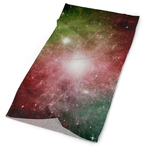 NA Bandeau Visage, Bandana coloré étoiles Planet Galaxy Neck, Bandeau décoratif 12 en 1 pour Femmes Hommes, 25X50Cm