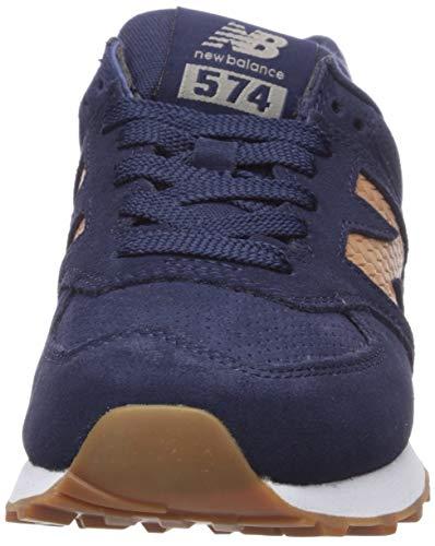 New Balance Iconic 574 V2, Zapatillas de Gimnasia. Mujer, Pigmento Vegano, 44 EU