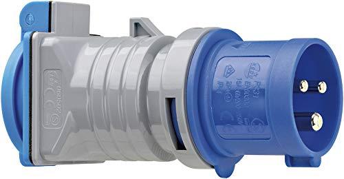 Brennenstuhl CEE-Adapter Schuko (Stecker: CEE 230 V/16 A, Steckdose: Schutzkontakt 230 V/16 A, IP44)