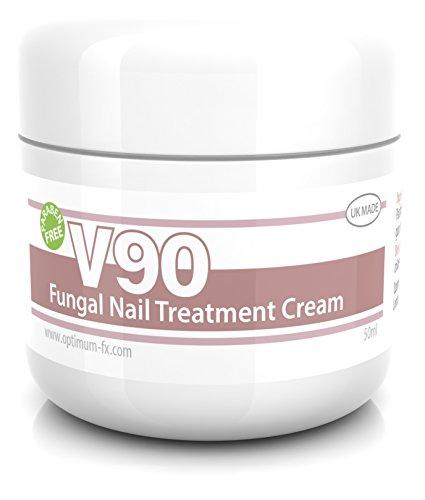 Crema para el tratamiento de hongos en uñas V90 sin parabenos - 50 gramos