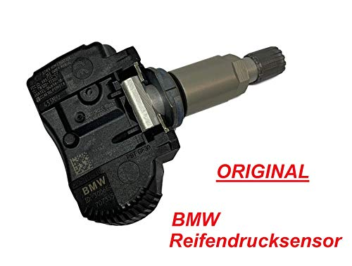 ORIGINAL Reifendrucksensor 707355-10 Radsensor für RDKS TPMS 1er 2er 3er 4er Mini X5 X6 Reifendruckkontrolle Reifendruckkontrollsystem Sensor Reifendruckkontrollsensor 433MHz