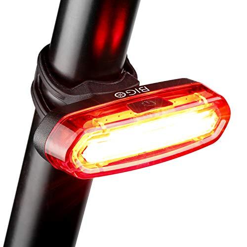 Luz Trasera para Bicicleta Recargable USB, Super Brillante R