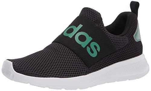 adidas Men's Lite Racer Adapt 4.0 Running Shoes, Black/White/White, 13