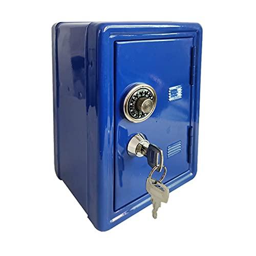 JSJJAHN Hucha Caja de Almacenamiento Caja de Dinero con Llave Caja de Dinero Metal Seguro Ahorro Segura Digital Hucha Tarro de depósito Billete de Banco (Color : 3)