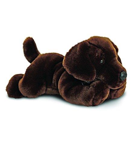 Keel Toys Schokoladenbrauner Labrador Hund Plüschtier Harley 35cm