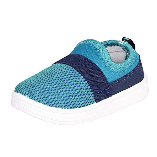 DAYZ Unisex Kid's Sports-6-CGN Green-Blue Walking Shoes-11 UK (29 EU) (Sports-6 CGN_11)