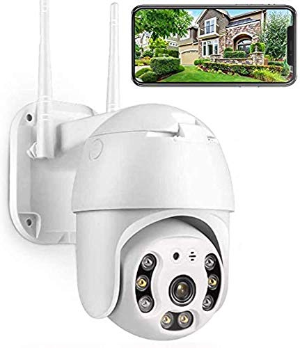 081 Store - TELECAMERA ESTERNA FULL HD 1080P 2020 WIRELESS IP PTZ PER VIDEOSORVEGLIANZA WIFI