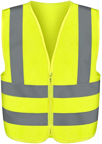 Neiko 53943A High Visibility Safety Vest, ANSI/ISEA Standard, Color Neon, 2XL, Yellow