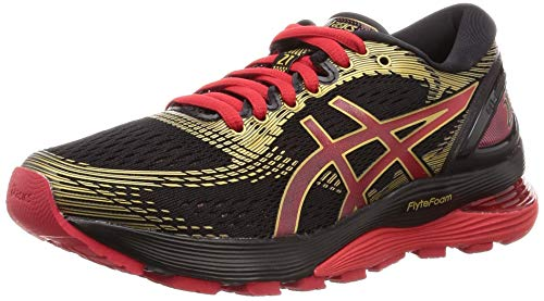 Asics Gel-Nimbus 21 1012a235-001, Zapatillas de Entrenamiento Mujer, Negro (Black 1012a235/001), 41.5 EU