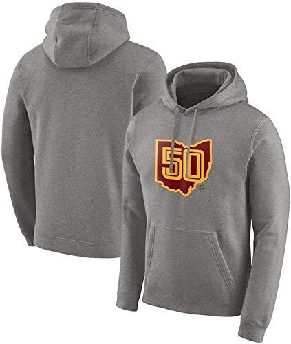 NBA Sudadera con capucha para hombre, camiseta de baloncesto Cleveland Cavaliers, ropa de entrenamiento deportiva casual, manga larga, sudadera con capucha, talla S (talla: XXL) – Unisex (talla XXL)