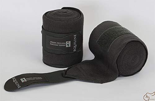 Equiline Stall Bandagen 4 MT Größe/Farbe * / grau