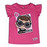 L.O.L Surprise ! Maglietta per Bambina LOL Dolls con Le Bambole Rocker, BFF Fancy & Fresh, Diva, IT Baby e M.C. Swag | Vestiti Estivi per Ragazza 100% Cotone (4/5 Anni, It Baby)