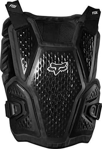 Fox Black Brustpanzer Raceframe Impact - Flo, Schwarz
