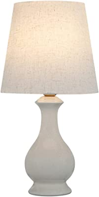 HOUSEHOLD Simple and Stylish Table Lamp, Living Room Bedroom Bedside Lamp, Decorative Table Lamp, Stepless Dimming Bedside Table Lamp, Light Color 3000K, Soft Light, Not Dazzling