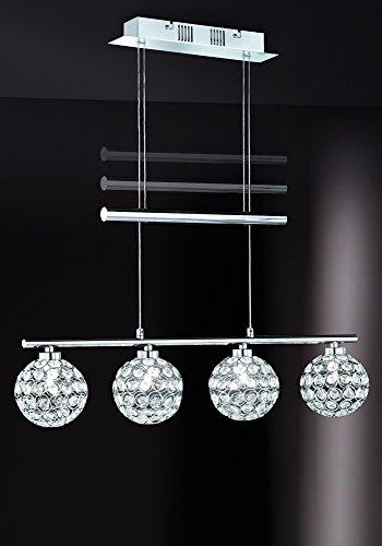 VAL3W756841/22 Illuminazione Interni Lampadario sospensione soffitto in metallo cromo - Proposto da Valastro lighting