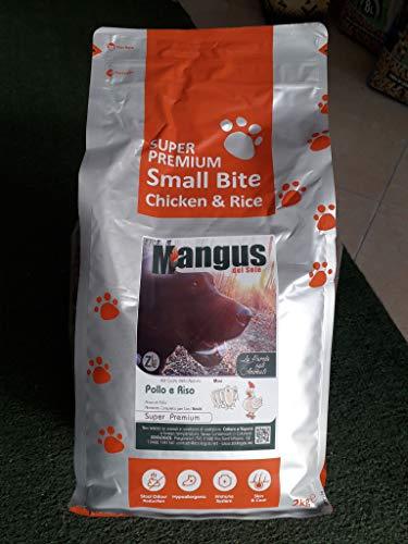 Mangus del Sole - Dog SuperPremium Small B. Pollo Riso. 2 kg.