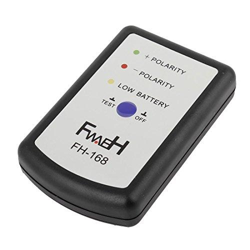 Car Audio DIY Phase Tester, Auto Audio System Lautsprecher Polarität Tester F H-168 DIY Auto Horn Phase Tester Schwarz Streifen CD Und Batterie
