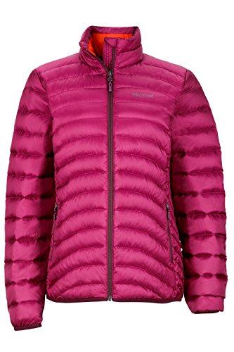 Marmot Aruna Women's Down Puffer Jacket, Fill Power 600, Magenta, X-Large