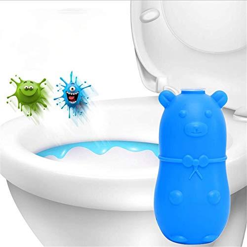 Blue bubble bear limpiador de inodoro automático herramienta de limpieza desodorante de inodoro orina suciedad limpieza de inodoro líquido de bebé para baño tanque de inodoro PC 3PCS)