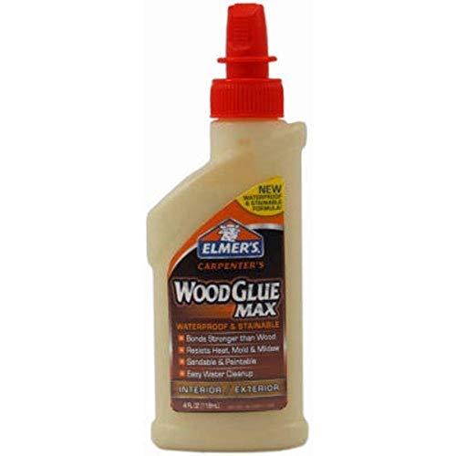 Elmer's E7290 Carpenter's Wood Glue Max, 4 Ounces, Tan