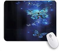 NIESIKKLAマウスパッド ファンタジー蝶モナークインスピレーション動物 ゲーミング オフィス最適 高級感 おしゃれ 防水 耐久性が良い 滑り止めゴム底 ゲーミングなど適用 用ノートブックコンピュータマウスマット